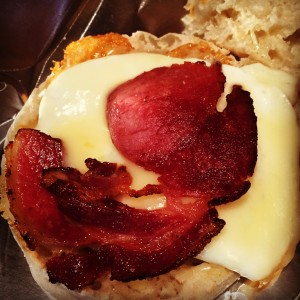 Acorn Pork British Bacon Bacorn Breakfast Sandwich
