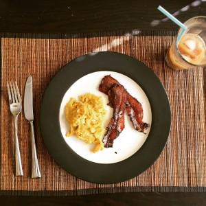 Walden Hill Eggs and Bacorn Breakfast