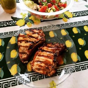 Walden Hill Grilled Acorn Pork Chops
