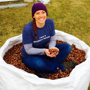 Walden Hill Founder Jennifer Milikowsky Sitting in Acorns