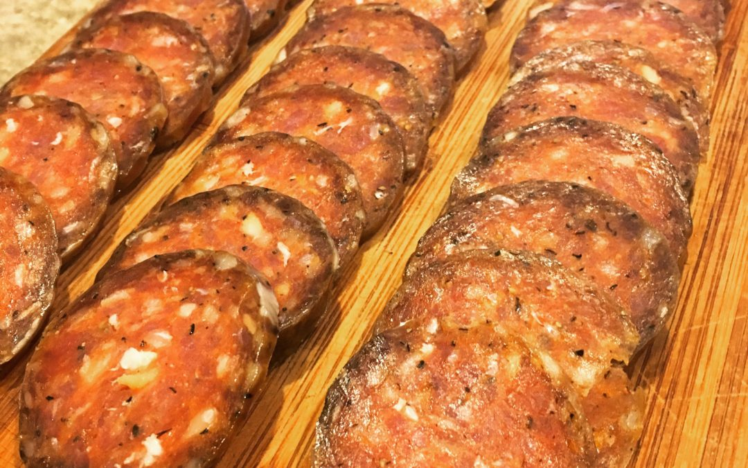 Introducing Acorn Pork Mild Salami!