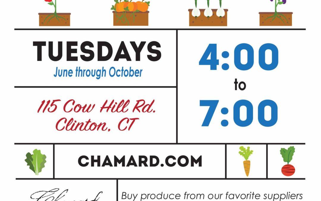 Chamard Vineyard's Farmer's Market