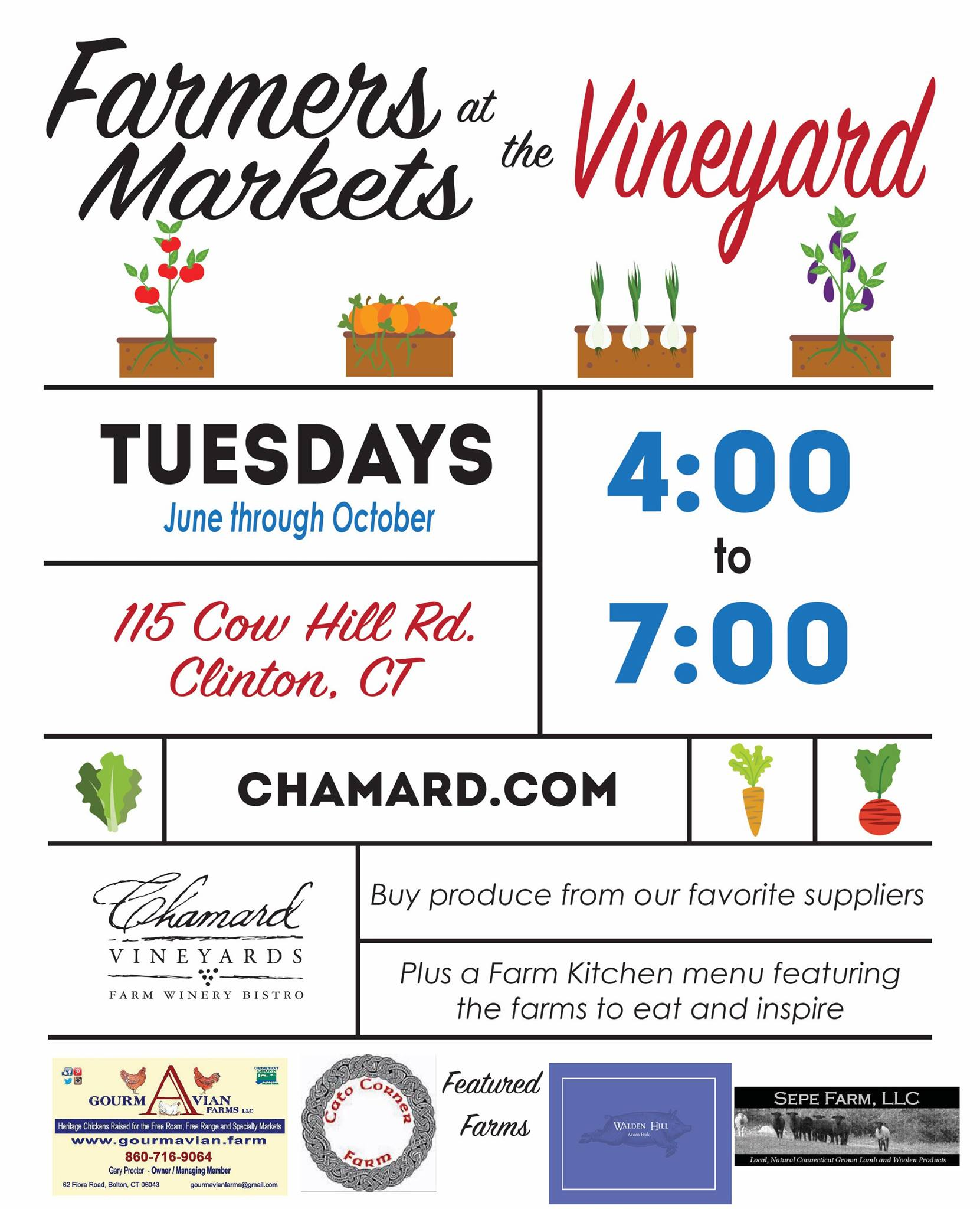 Chamard Vineyard Farmer's Market