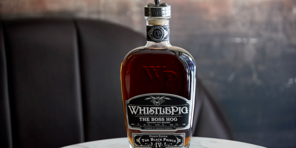 Whistle Pig Whiskey Boss Hog